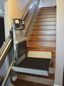 Wheelchair lifts standard features x3 by garaventa for Garaventa lift
