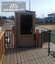 Genesis enclosure augustana college garaventa lift for Garaventa lift
