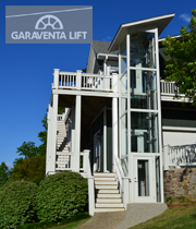 Home elevator copeland residence garaventa lift for Garaventa lift