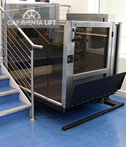Genesis opal foot locker garaventa lift for Garaventalift