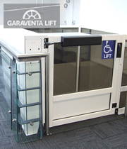Genesis enclosure latrobe street garaventa lift for Garaventa lift