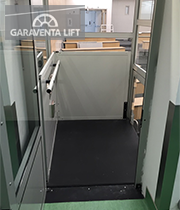 Genesis enclosure royal inland hospital garaventa lift for Garaventalift